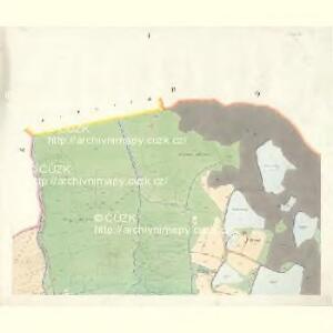 Wittingau - c8043-1-001 - Kaiserpflichtexemplar der Landkarten des stabilen Katasters