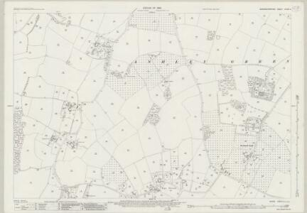 Buckinghamshire XXXIX.6 (includes: Ashley Green; Chesham; Latimer) - 25 Inch Map