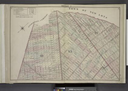 Brooklyn, Double Page Section 7; [Including Wards 18, 24, 25]