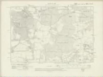 Surrey XLV.SE - OS Six-Inch Map