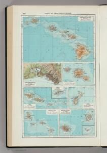 244.  Pacific and Indian Oceans Islands.  The World Atlas.
