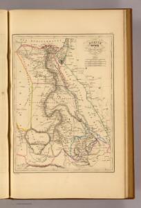 Egypte, Nubie et Abyssinie.