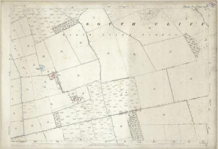 Yorkshire CCXXIV.1 (includes: Holme Upon Spalding Moor; Hotham; South Cliffe) - 25 Inch Map