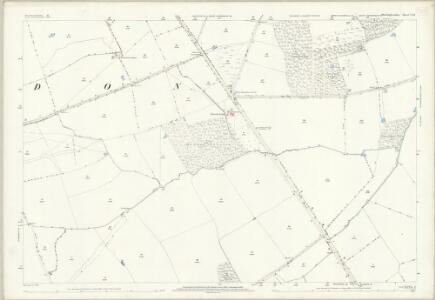 Huntingdonshire V.10 (includes: Alwalton; Folksworth and Washingley; Haddon; Morborne; Orton Longueville; Orton Waterville; Yaxley) - 25 Inch Map