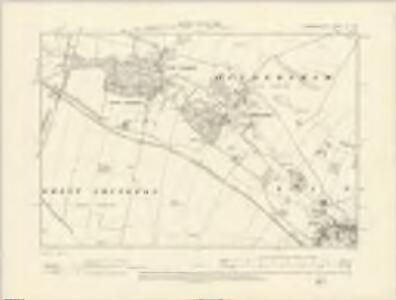 Cambridgeshire LV.SW - OS Six-Inch Map