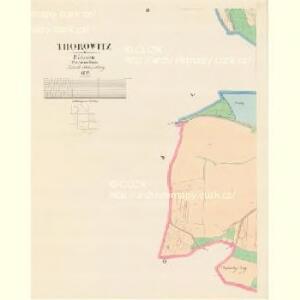 Thorowitz - c7903-1-002 - Kaiserpflichtexemplar der Landkarten des stabilen Katasters