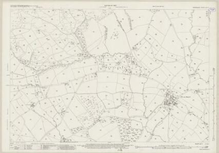 Shropshire LVI.11 (includes: Cardington; Eaton Under Haywood; Hope Bowdler; Rushbury) - 25 Inch Map
