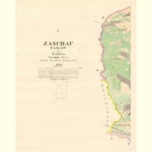 Zaschau (Zassow) - m3563-1-005 - Kaiserpflichtexemplar der Landkarten des stabilen Katasters