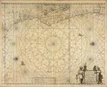Pascaart van de zee-custen van Angola, en Cimbebas van Rivier de Galion tot C. de Bona Esperanca