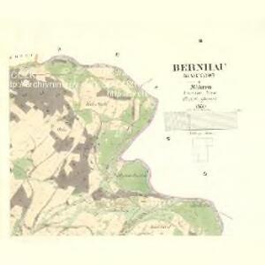 Bernhau (Barnow) - m2132-2-002 - Kaiserpflichtexemplar der Landkarten des stabilen Katasters