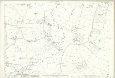 Kent LXIII.5 (includes: Frittenden; Headcorn; Staplehurst) - 25 Inch Map