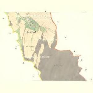 Obetzdorf (Obectow) - m2092-1-002 - Kaiserpflichtexemplar der Landkarten des stabilen Katasters