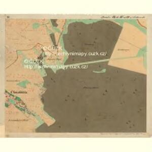 Cwalatitz - m0989-1-006 - Kaiserpflichtexemplar der Landkarten des stabilen Katasters