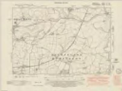 Derbyshire LVI.SW - OS Six-Inch Map