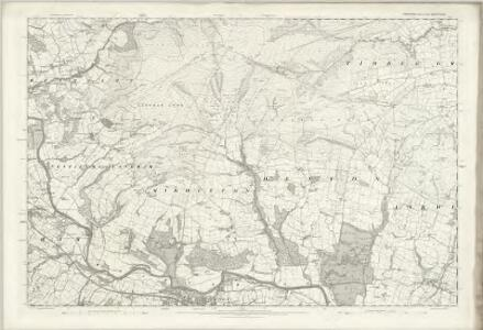 Yorkshire CXXXIV - OS Six-Inch Map
