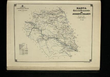 Harta Cailor de Comunicatie din Judetul Neamtu