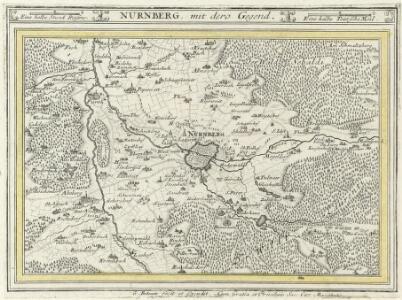 Nürnberg, mit dero Gegend.