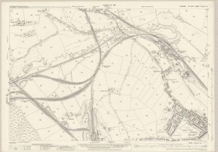 Yorkshire CCLXXV.13 (includes: Barnsley; Wombwell; Worsborough) - 25 Inch Map