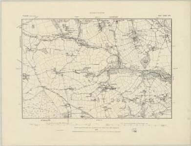 Cornwall XXIII.SW - OS Six-Inch Map
