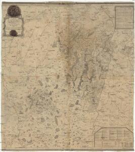 Carte du pays et comté du Maconnois comprenant le diocese et bailliage de Macon