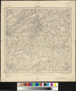 Meßtischblatt 2781 : Solingen, 1910