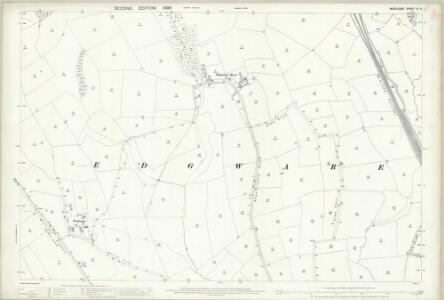 Middlesex VI.9 (includes: Hendon) - 25 Inch Map