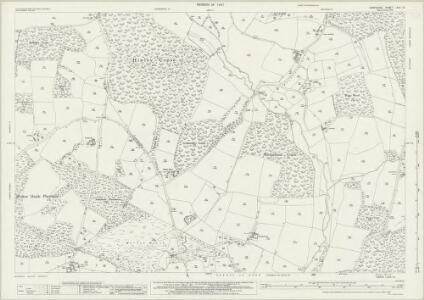 Hampshire and Isle of Wight LXVII.15 (includes: Boarhunt; Denmead; Southwick and Widley) - 25 Inch Map