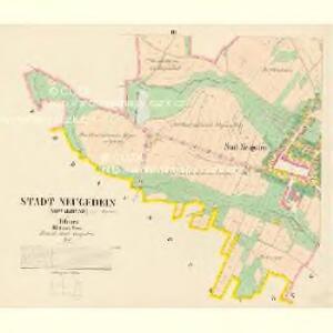 Neugedein (Nowakdyne) - c3085-1-003 - Kaiserpflichtexemplar der Landkarten des stabilen Katasters