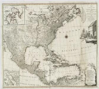 A new and correct map of North America with the West India Islands : divided according to the last Treaty of Peace, concluded at Paris the 20th of Jan. 1783, wherein are particularly distinguished the thirteen provinces wich [sic] compose the United Stat