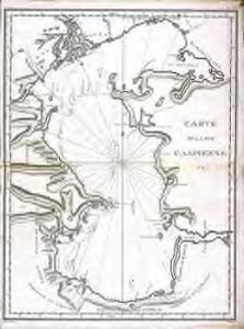 Carte de la mer Caspienne