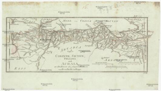 Corinth, Sicyon, Phliasia und Achaia