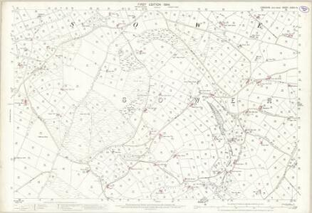 Yorkshire CCXXX.14 (includes: Hebden Royd; Ripponden; Sowerby Bridge) - 25 Inch Map
