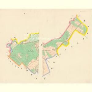 Janowitz (Janowice) - c2763-1-003 - Kaiserpflichtexemplar der Landkarten des stabilen Katasters