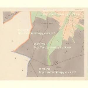 Hrobschitz (Robssicz) - c6486-1-004 - Kaiserpflichtexemplar der Landkarten des stabilen Katasters