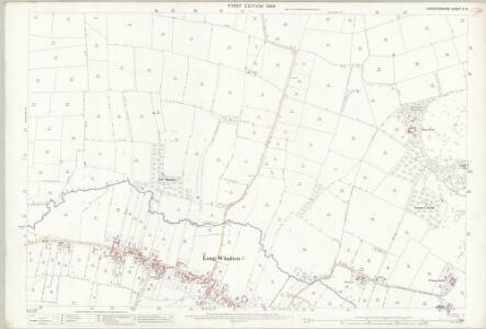 Leicestershire X.10 (includes: Kegworth; Long Whatton) - 25 Inch Map
