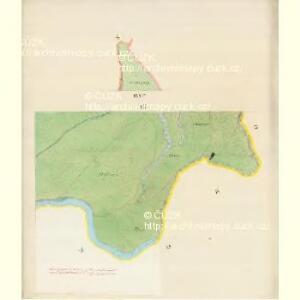Bisenz (Bzenec) - m0321-1-018 - Kaiserpflichtexemplar der Landkarten des stabilen Katasters
