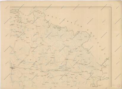 Hydrografische Uibersichtskarte der Flüsse, Bäche und sonstigen Gewässer im Königreiche Boehmen