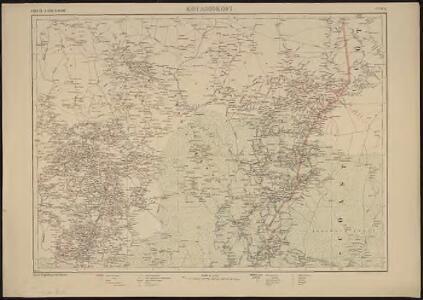Carte de la Côte d'Ivoire dressée par A. Meunier. Kouadiokofi