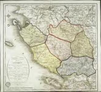 Carte topographique et militaire du theatre de la guerre dans la Vendée