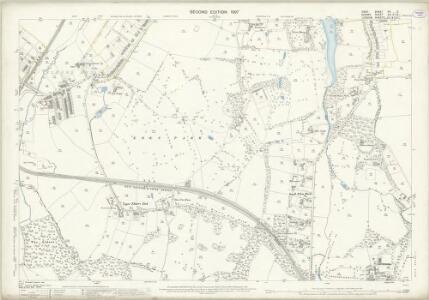 Kent XV.3 (includes: Beckenham; Croydon St John The Baptist) - 25 Inch Map
