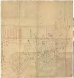 加佐郡地図銅版下絵