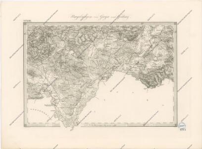 Special - Karte der Markgrafschaft Maehren und des Herzogthums Schlesien