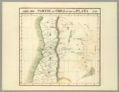 Partie, Chili, la Plata. Amer. Merid. 33.