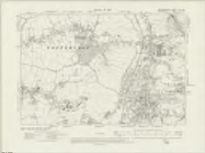 Hertfordshire XLV.SE - OS Six-Inch Map