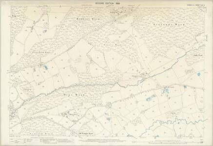 Sussex XLIII.2 (includes: Brightling; Mountfield) - 25 Inch Map