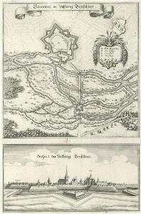 Grundtriß der Vestung Benfelden