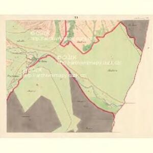 Alt Hrosenkau (Stary Hrasenkow) - m2868-1-010 - Kaiserpflichtexemplar der Landkarten des stabilen Katasters
