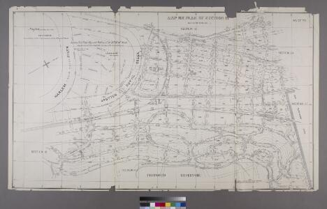 Map or Plan of Section 21. [Bounded by Riverdale Avenue, W. 238th Street, Spuyten Duvil Road, W. 240th Street, Van Cortlandt Avenue, Gun Hill Road, Sedgwick Avenue and Kingsbridge Road.]