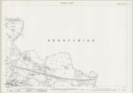 Cheshire XX.11 (includes: Disley; Marple; New Mills) - 25 Inch Map