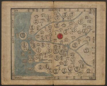 韓國輿地圖:京畿